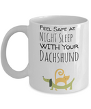 Dachshund Puppy Cat Mug for Dog & Cat Lovers - Cute Inspirational White 11 oz Gift for Dog Moms - Motivational Wiener Dog Gift For Her - Funny Hot Cocoa, Coffee, Tea Doggy Cup!, Coffee Mug, Gearbubble, FamilyTrophy.com - FamilyTrophy.com