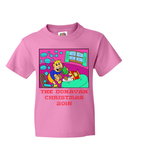 Junior Farty Hot Chocolate Christmas - Personalized Family Name Christmas 2015 - Perfect Christmas 2015 Gift For Kids With Humor - Funny Christmas Fart Shirts, Apparel, Family Trophy, FamilyTrophy.com - FamilyTrophy.com