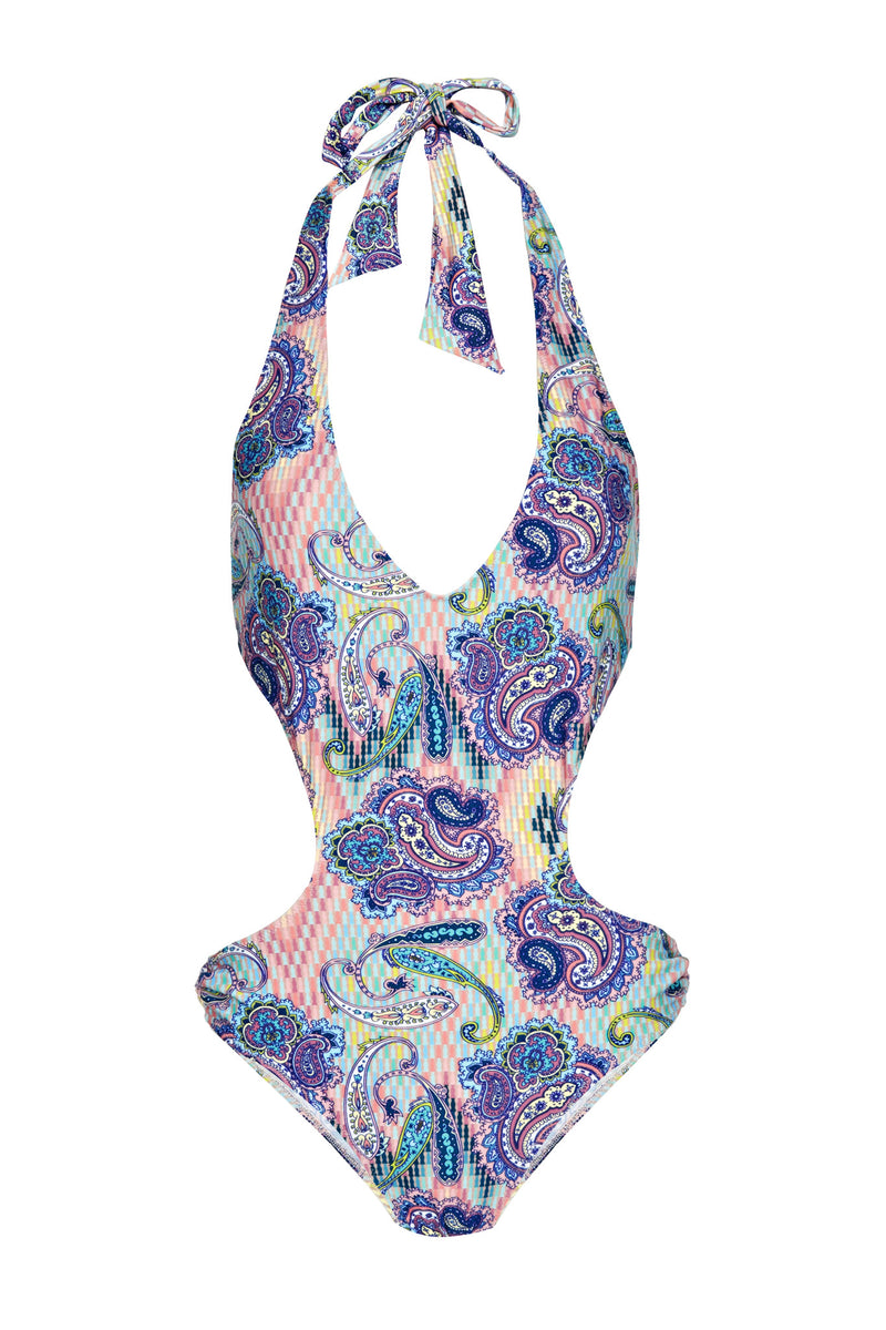Fortuna Paisley Swimsuit