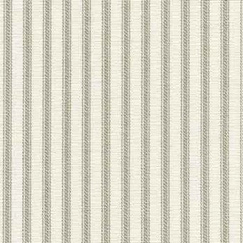 Ticking Stripe Curtain Panel Gray