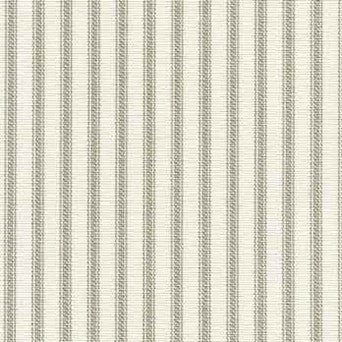 Grey Ticking Stripe Shower Curtain