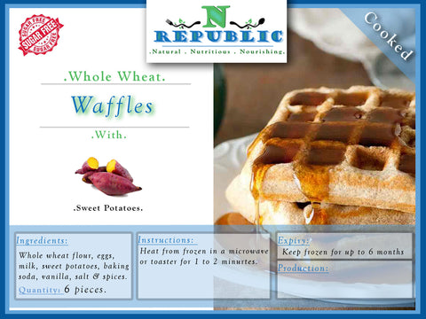Waffles (ready to serve)