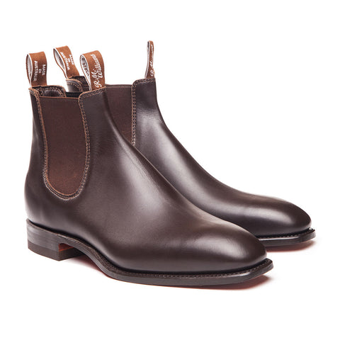 RM Williams - 'The RM' Chelsea Boot Chestnut Brown
