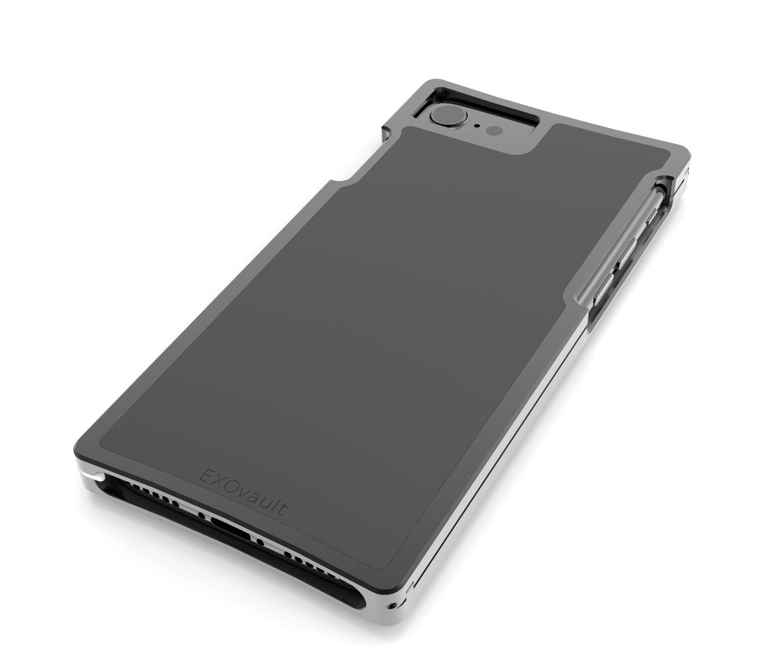 EXO23-S Black Aluminum and Matte-Black G10 for the iPhone 8/7/6s/6
