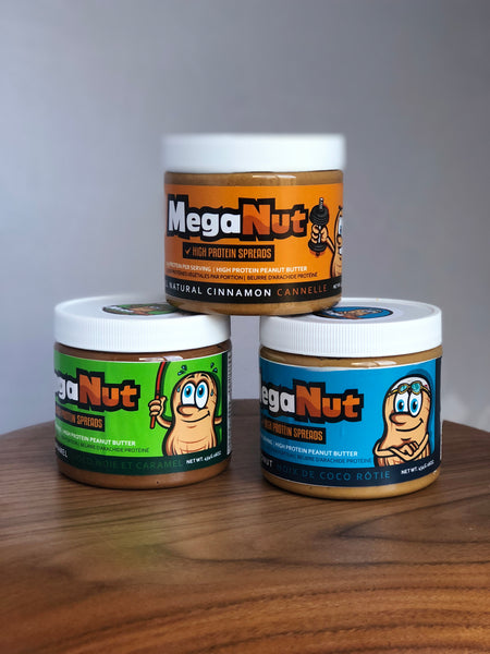3 JAR PACK - High Protein Spreads