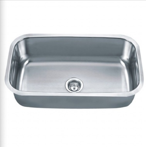Buy Large Single Bowl Stainless Steel Kitchen Sink 10 - Zen Tap Sinks - 1