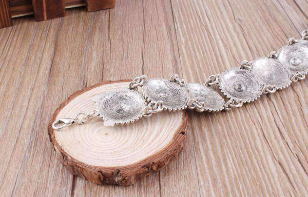 Boho Vintage Choker Vrstvy Crescent Moon Necklaces Set - Lupsona