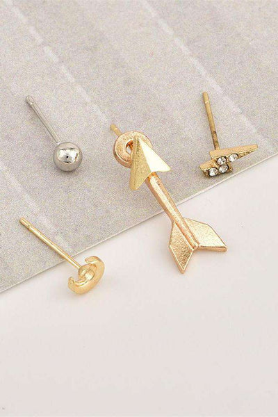 Chic Moon Arrow Eardrop naušnice - Lupsona