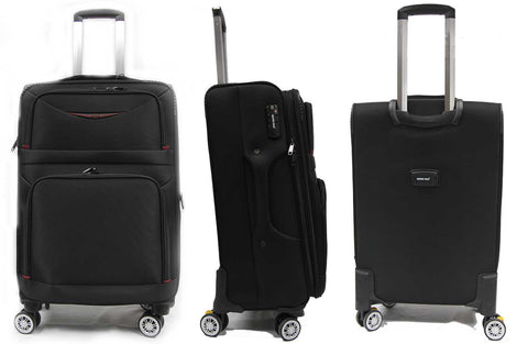 Versatile Softside Expandable Luggage with Double Casters and TSA Lock
