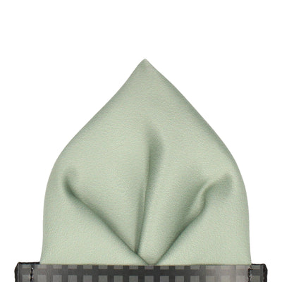 Classic in Sage Green Pocket Square