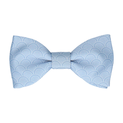 Wordsworth Steel Blue Bow Tie