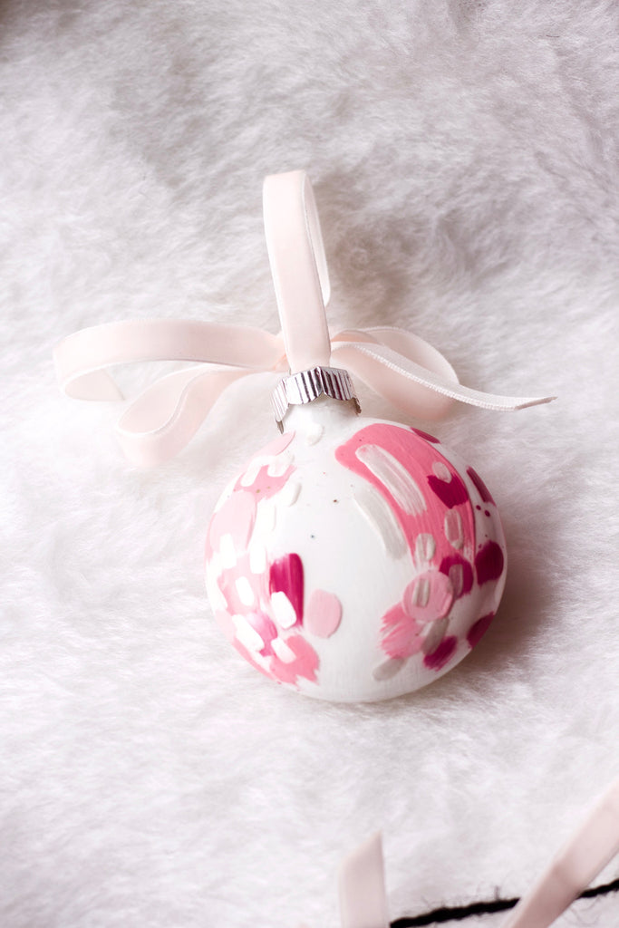 Bubblegum No. 8  - Hand Painted Holiday Ornament - Holidays 2016