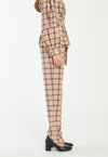 Define Pant in Blush Check, bottom, c/meo, - nois