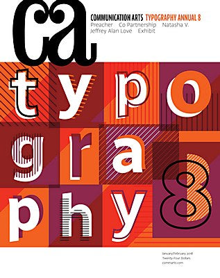 COMMUNICATION ARTS 420 (Typography Annual 8)