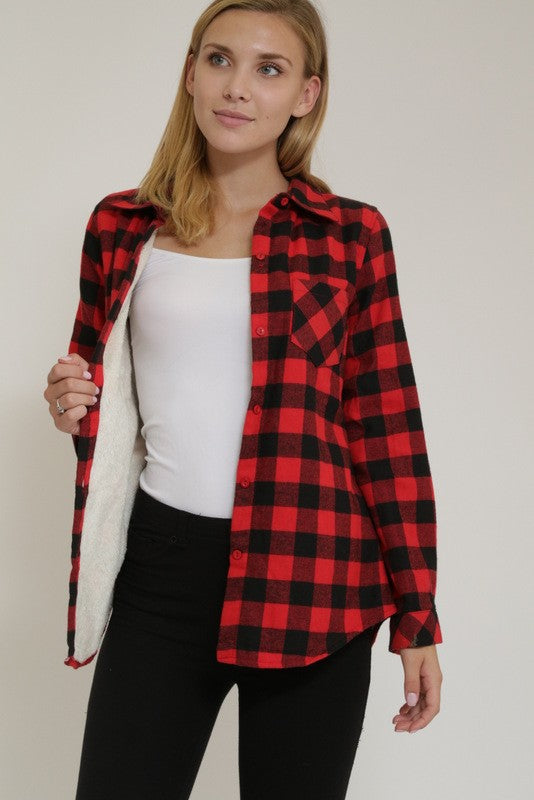Lumber Plaid Top