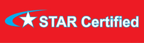 STAR CERTIFIED | 3FT X 10FT | Vinyl Banner