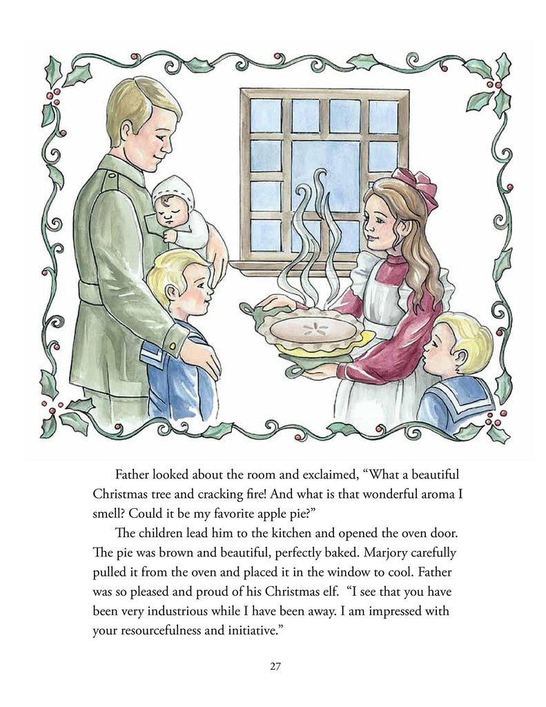Marjory's Christmas Shop - Hathaway House Books  - 2