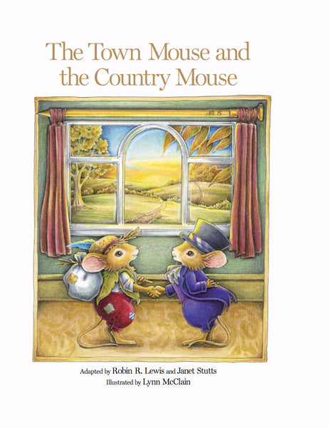 The Town Mouse and the Country Mouse - Hathaway House Books  - 1