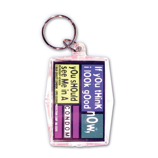 If You Think I Look Good Now Condom Keyper,  Bag of 10