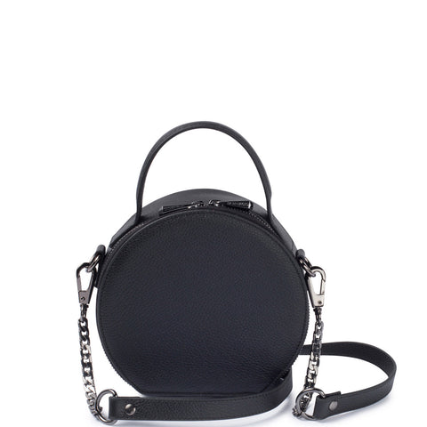 Bowie Circle Bag, Black