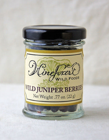 Wine Forest Wild Foods wild juniper berries, hand picked and sourced with care