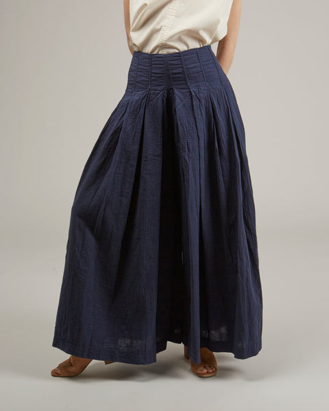 Palermo pants in dark navy