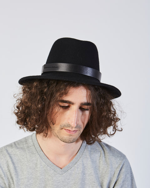 Jackson wool hat in black