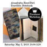 Workshop | Anaglypta Faux-Dori Travelers Notebook with Patti Euler