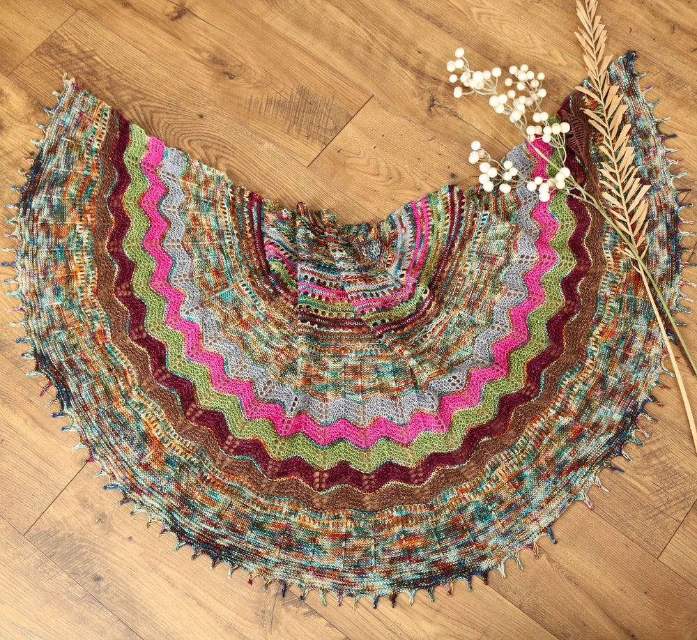 Surprise Party Shawl by Helen Stewart
