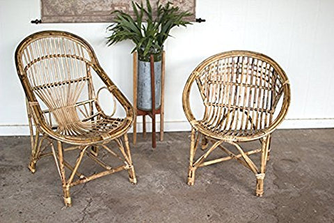 Bamboo Relax Chair - Les Spectacles French Industrial