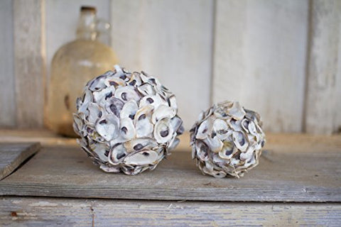 Oyster Shell Sphere - Les Spectacles French Industrial