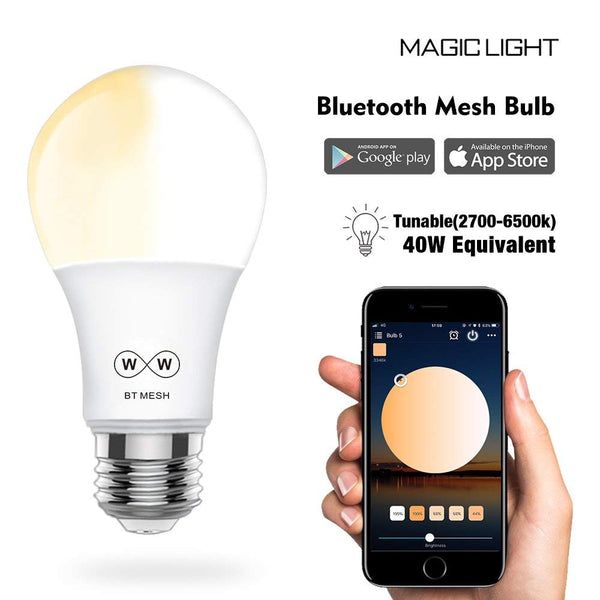 MagicConnect Bluetooth with Mesh Technology Tunable White Light Bulb