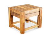 Tola Teak Shower Stool