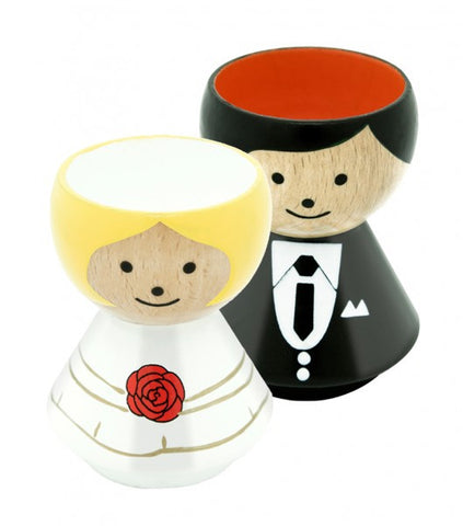 Egg Cups For The Happy Couple