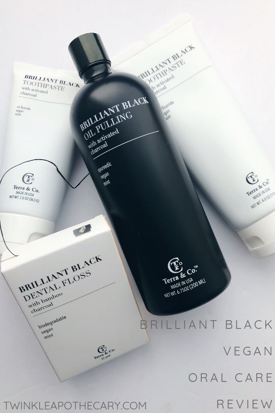 brilliant black vegan oral care review twinkle apothecary