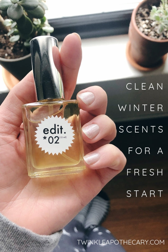 clean winter scents for a fresh start twinkle apothecary