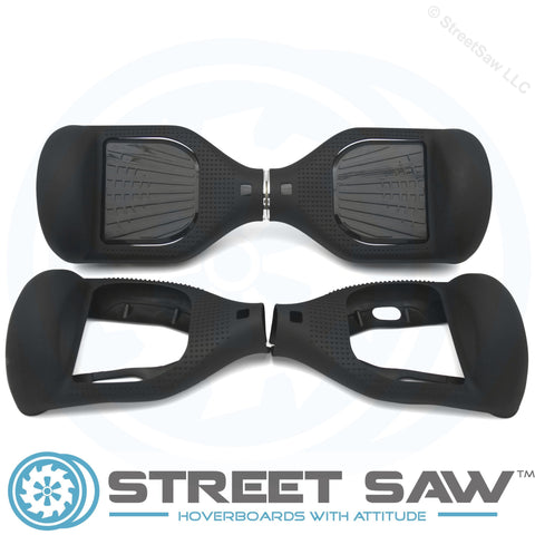 Hoverboard Silicone Cover Rubber Black