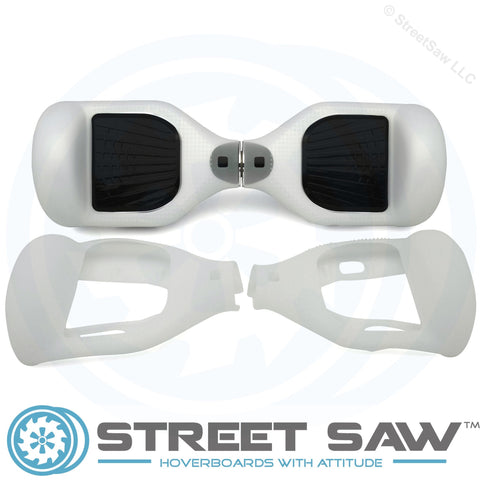 Image of Hoverboard Silicone Cover Rubber Clear