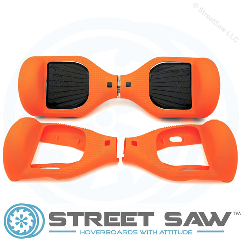 Hoverboard Silicone Cover Rubber Orange
