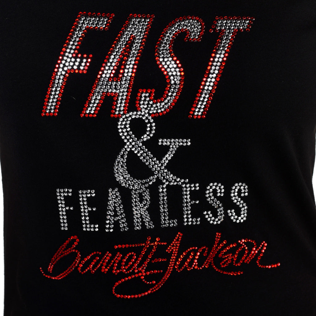 Bling Fast & Fearless Tee