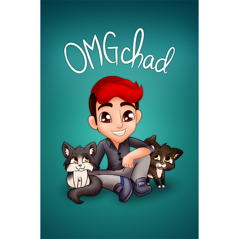 OMGchad Poster