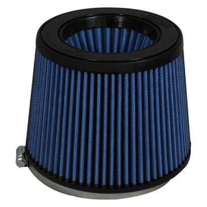Injen AMSOIL Replacement Nanofiber Dry Air FIlter 5in Flange Diameter/6.5in Base/5in Height/70 Pleat