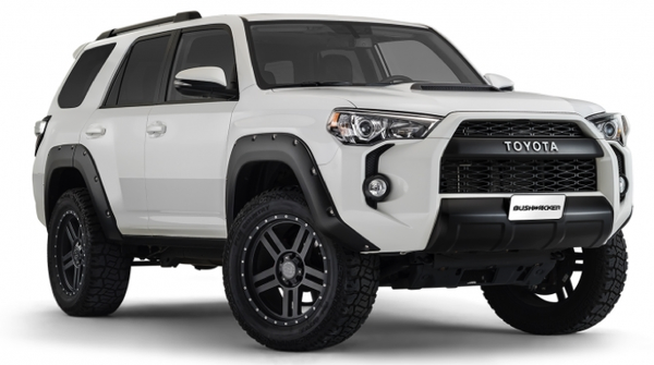 Bushwacker Pocket Style Flares 2014-2016 Toyota 4Runner Front Pair Only