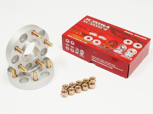 ICHIBA Version II Hubcentric Wheel Spacers 25mm Mazda / Mitsubishi (5:114.3 / 67.1 Bore / 12x1.5 Thread Type)