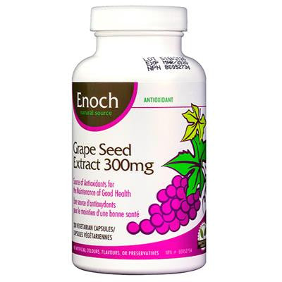 Enoch Grape Seed Extract 300mg 200 VCaps