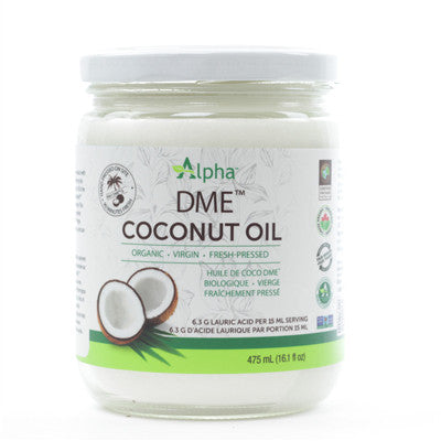 Alpha DME Organic Virgin Coconut Oil 475 ml