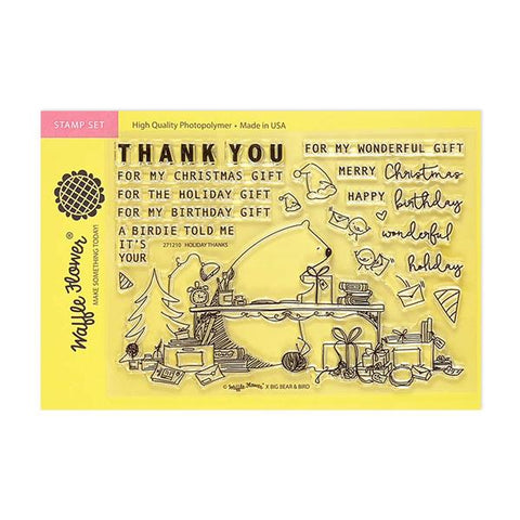 Holiday Thanks Stamp Set