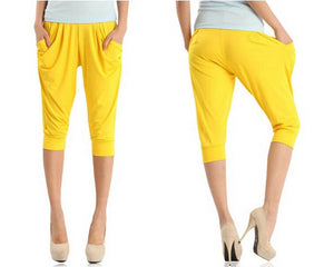 Candy Color High Waist Thin Pants - J20Style - 4