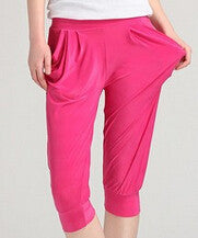 Candy Color High Waist Thin Pants - J20Style - 14