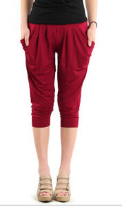 Candy Color High Waist Thin Pants - J20Style - 17